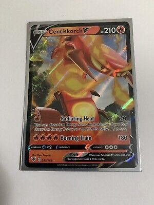 Holo Centiskorch V Ultra Rare 33//189