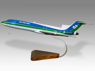 2019 Fashion Boeing 727-200 Air Florida Solid Kiln Dried Mahogany Wood Airplane Desk Model
