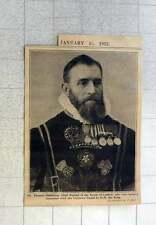 1902 Mr Thomas Middleton Chief Ward Of The Tower Of London