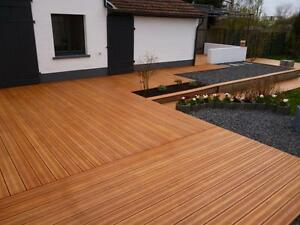 boards image is loading 145 x 20mm smooth danish heveatech decking patio