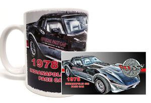 1978-INDIANAPOLIS-INDY-500-PACE-RACE-CAR-CORVETTE-11-OZ-COFFEE-MUG