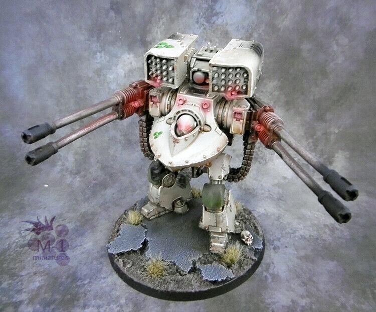 Warhammer 40k projoector de la muerte derojoeo drojonought Forge World M1 Pintado