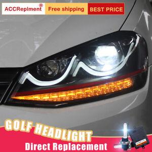 2013 vw golf headlight bulb replacement