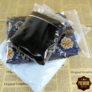 Small Clear 10 Bags Slider Plastic Clothing Storage Travel Ziplock Zipper Slide