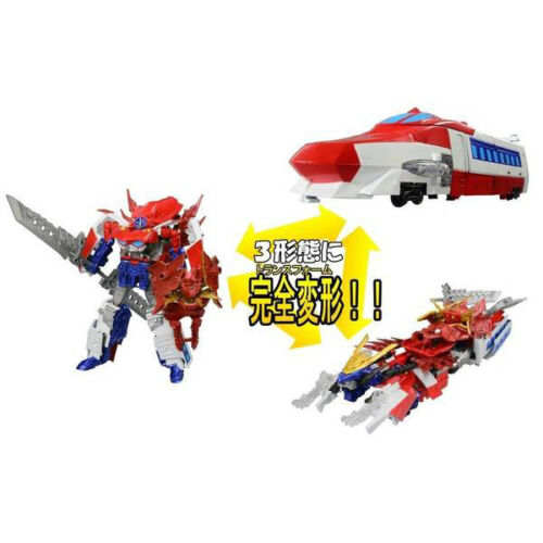 G26 Optimus Exprime EX Prime Triple Changer Figure Takara Transformers Go