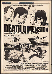 DEATH-DIMENSION-Original-1977-Trade-AD-promo-poster-JIM-KELLY-GEORGE-LAZENBY