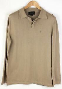 Marlboro Klassisch Herren Kragen Sweatshirt Strickjacke Größe M AGZ585