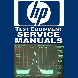 AGILENT HP TEST SERVICE MANUAL LOGIC ANALYZER PROBE OSC