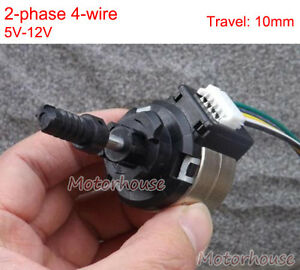 2-phase 4-wire Stepper Motor DC 5v 12v linear Actuator Telescopic Position Rod