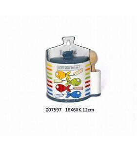 Kleines-Keramik-Salzfass-mit-Holzloeffel-Salzbehaelter-Efya-deco-France-Wassermann