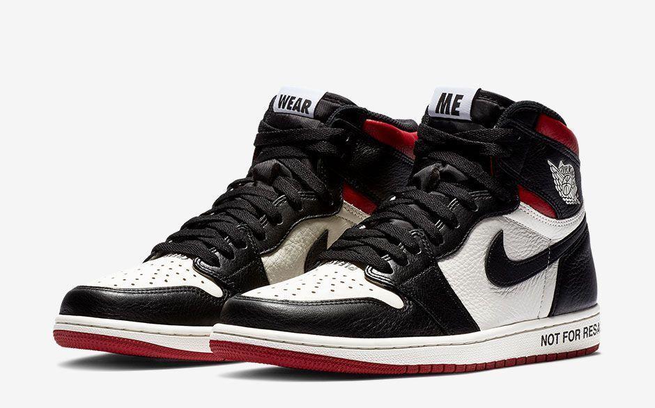 Nike Air Jordan 1 Retro High OG NRG SZ 12 Sail Black Varsity Red 861428-106