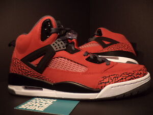 low priced 5d37a f8a24 Image is loading Nike-Air-Jordan-SPIZIKE-TORO-BRAVO-GYM-RED-