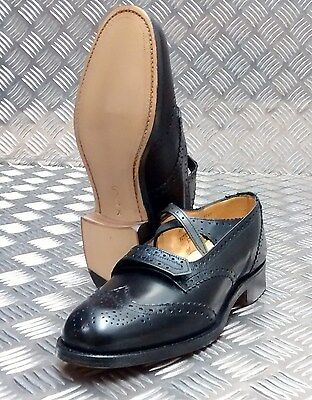NEW Genuine British Army Piper Brogues Officers Issue Formal Dress Shoes