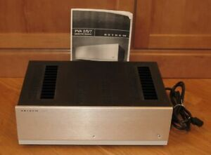 Anthem PVA2 Stereo 2-Channel HiFi Power Amplifier - Brushed Aluminum Face