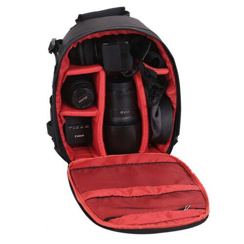 Waterproof DSLR SLR Camera Backpack Large Shoulder Bag Case For Canon Nikon Sony