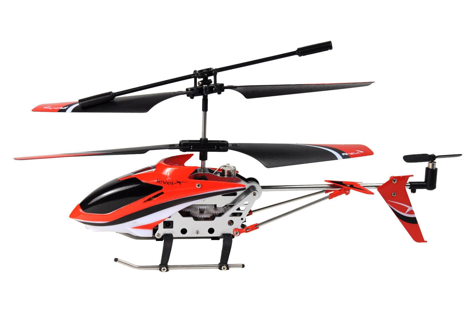 RC Helikopter Hubschrauber Level X IR im Alukoffer IR / 3 Kanal / ø180mm / 38g