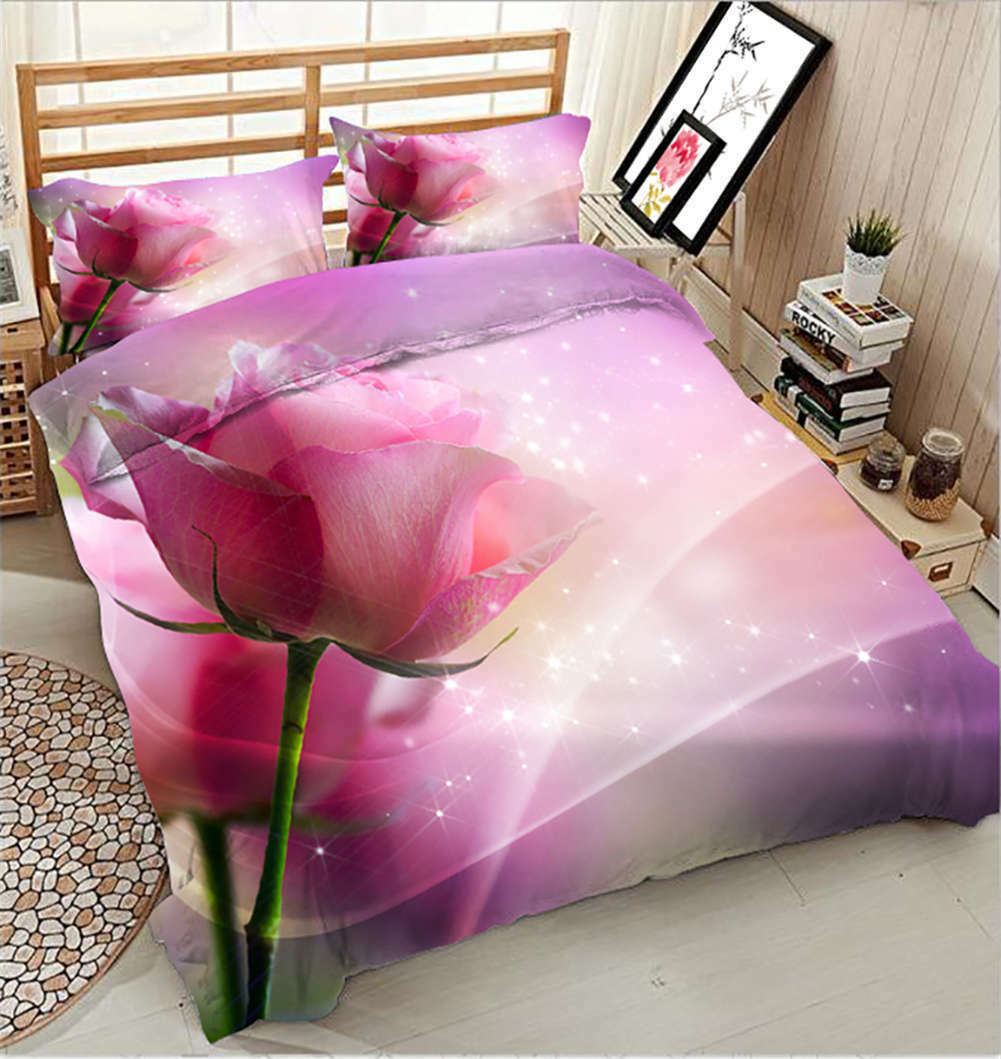 Shiny Daffodils 3D Printing Duvet Quilt Doona Covers Pillow Case Bedding Sets