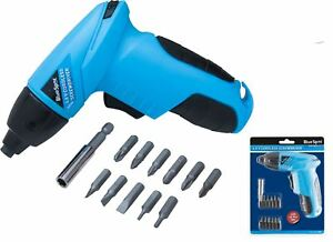 Bluespot-4-8v-Rechargeable-Battery-Cordless-Screwdriver-Drill-With-Bit-Set-12066