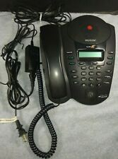 Polycom Soundpoint Pro Se 220 2 Line Conference Speakerphone With Power Supply