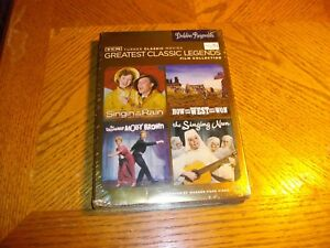 TCM-Greatest-Classic-Legends-Film-Collection-Debbie-Reynolds-DVD-2015-5-Disc