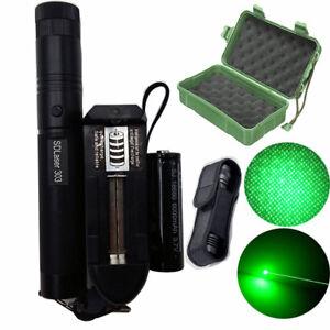 50Mile-Laser-Pointer-Kits-Green-1mW-Lazer-Pen-Beam-Burn-18650-Battery-Charger-UK