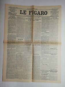 N836-La-Une-Du-Journal-Le-Figaro-25-juillet-1923-pacte-traite-de-Lausanne