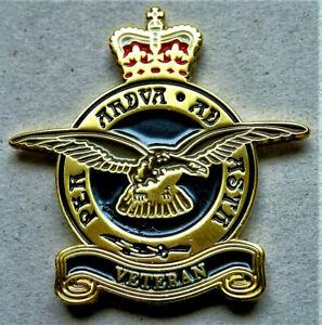 BRITISH-MILITARY-RAF-ENAMEL-PIN-BADGE-RAF-VETERAN-REMEMBRANCE-DAY-BRAND-NEW