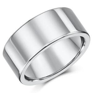 Titan Ehering Verlobungsring Flachgericht Form 10 Mm Ehering Herren