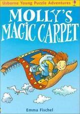 Molly's Magic Carpet (Usborne Young Puzzle Adventures) Fischel, Emma Paperback
