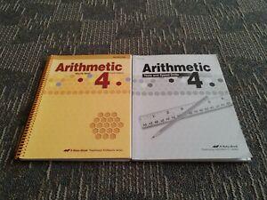 Abeka 4th Grade Arithmetic 4 Teacher Answer Key, Math Test ...