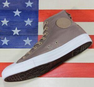 CONVERSE-Chuck-Taylor-ALL-STAR-II-HI-Cordura-Brown-White-SAMPLE-161430C-size-9