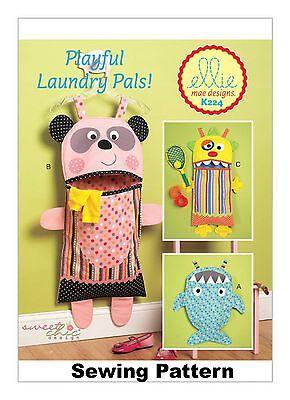 Laundry Bags OSZ BN Kwik Sew K224 Ellie Mae Designs PATTERN