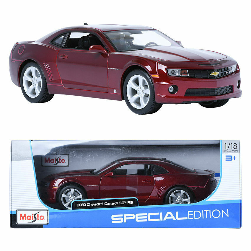 MAISTO 1 18 2010 Chevrolet Camaro SS RS Vin Display Miniature Voiture