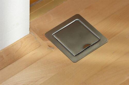 Saugdose metallo pavimento saugdose Quadrato//rettangolare molti colori per Aspirapolvere centrale