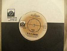 B & K UNION IF I GET TO HEAVEN private stock demo / promo 68 near mint