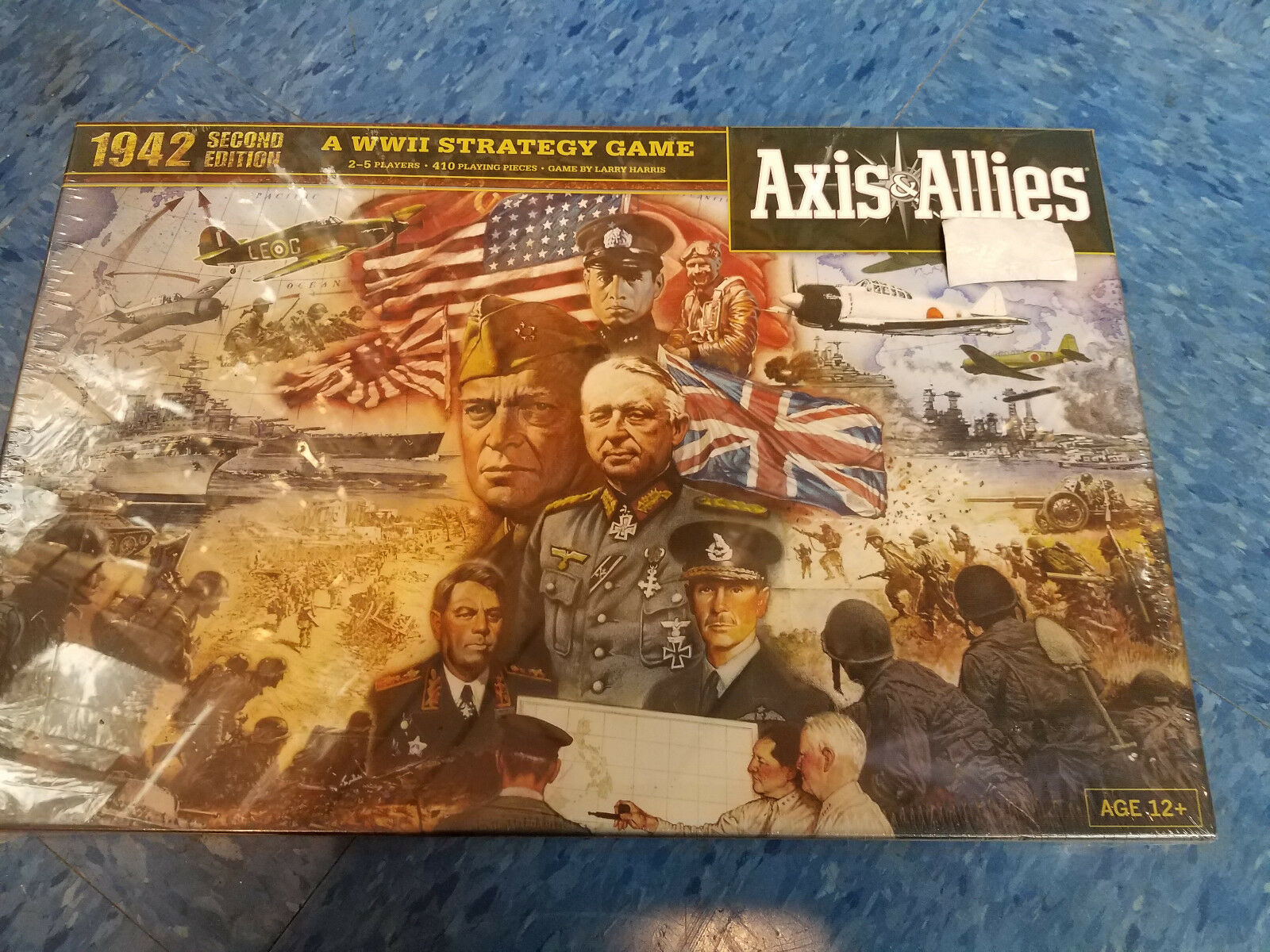 Axis and Allies Allies Allies 1942 Second Edition  Wizards of the Coast War Board Game New 4e5e01