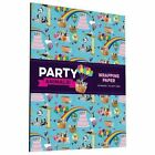 Party Animals Wrapping Paper 9781452142869 by Chronicle Books
