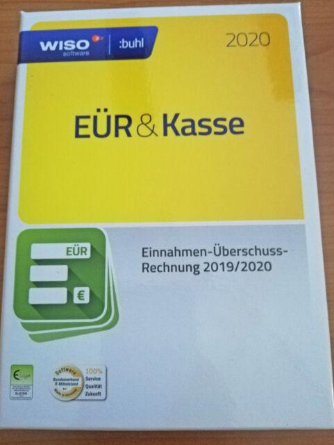 WISO EÜR & Kasse 2020 (CD / Windows) OVP