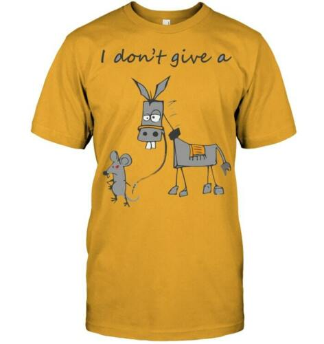 I Don/'t Give A Rat/'s Ass T Shirt Vintage Gift For Men Women Funny Tee
