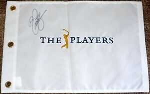 Rickie-FOWLER-Signed-PLAYERS-CHAMPIONSHIP-Pin-Flag-2015-Champion-PSA-DNA