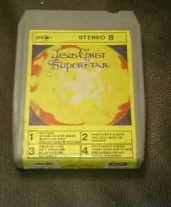 8 Track Cassette Cartridge Eight Jesus Christ superstar part one