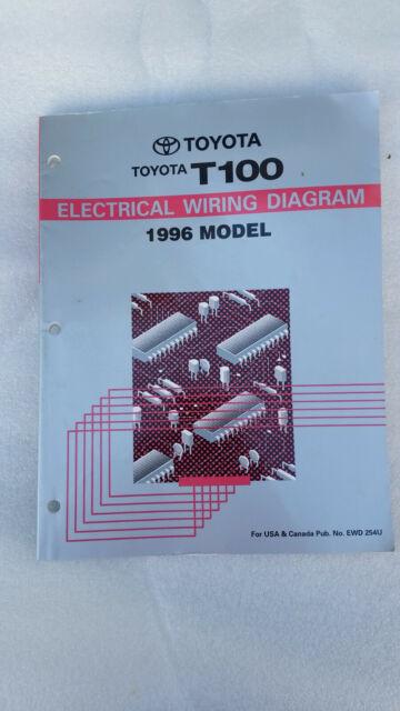 1996 Toyota T100, OBDII, OEM factory electrical diagram | eBay