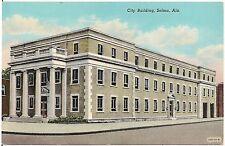 City Building in Selma AL Postcard