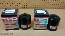 2 NEW OEM TRD OIL FILTERS & GASKETS PTR43-00080