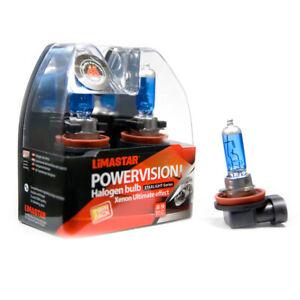 2-X-H8-PGJ19-1-Poires-Voiture-Lampe-Halogene-6000K-35-Watt-Xenon-Ampoules-12V
