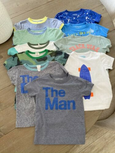 Crewcuts Little Boys Size 3 Tees T-shirts