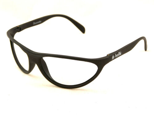 New Old Stock Bolle Anaconda Sunglasses Matte Black Frames ONLY Vintage France