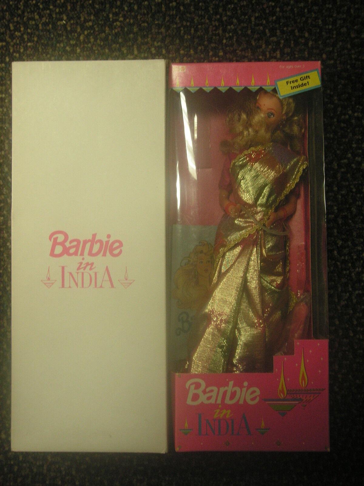 Mattel Toys Ltd Muñeca Barbie importación en la India (raro) SKU
