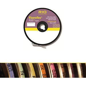 Rio Fluoroflex Plus Tippet Tippet 2x 30 Yard Spool Free Shipping!!
