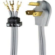 Black 4-Feet Prime RD100404L 3-Pole 4-Wire SRDT 30A 125//250-Dryer Cord Volt